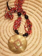 Africa ethnic tribal jntb31 African Tuareg Pendant Necklace