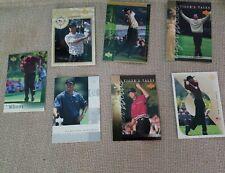 Tiger Woods Upper Deck 2001 cards lot of 7 cards