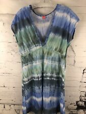 Aerin Rose Women's Summer Beach Cover Up Sheer Medium to Large