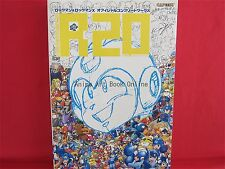 R20 Mega man Rockman & Mega man Rockman X Official Complete Works Art Book