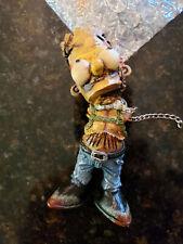 Handmade Bart Simpson Walking Dead Zombie Parody Figure Horror Collectible