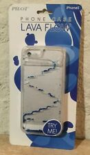 New Pilot Blue Lava Flow Protective Liquid Case 4 Apple  iPhone 5/5s Made In USA