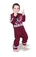 Queensland QLD State of Origin Youth Footysuit All-in-one Romper 4