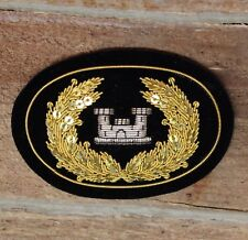 American Civil War Large Officers Engineers Hat Insignia - ACWS