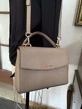 Beautiful Stylish MICHAEL KORS Ava Saffiano Leather SmallCrossbody Satchel Purse