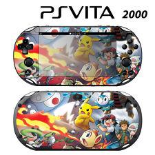Sony PS Vita Slim 2000 Skin Decal Sticker Vinyl Wrap Pokemon Pikachu 3