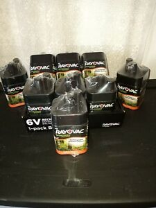 Rayovac 6 Volt 6v 5Ah Sportsman Rechargeable Outdoor  Battery Sealed Lot of 9