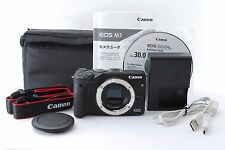 *MINT!!* Canon EOS M3 24.2 MP Black Mirrorless Digital Camera Body From Japan