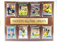 Green Bay Packers All time Greats Holz Wandbild 38cm,Plaque NFL Football