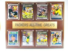 Green Bay Packers all Time Greats Wood Wall Picture 38cm, Plaque NFL Football