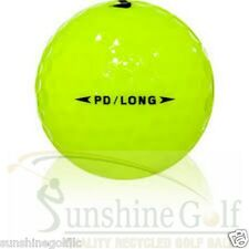 24 AAA Nike Power Distance PD Long Yellow Used Golf Balls (3A)