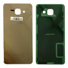 Samsung gh82-11020a Tapa batería para Galaxy a5 2016 a510f + almohadilla adhesiva adhesive oro