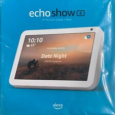 Amazon - Echo Show Smart Display with Alexa  8 Charcoal , Sandstone NEW SEALED