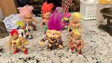 """LOT OF 10 VINTAGE 1992- 1993 HASBRO AND T.N.T. 5"""" BATTLE TROLLS NICE MIX!"""