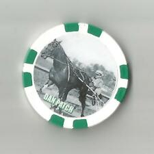 """""""DAN PATCH""""  HARNESS HORSE  RACING CHIP UNDEFEATED IN 1909 MOST FAMOUS HORSE"""