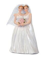 Hochzeitspaar Lesben Hochzeit Tortenfigur Deko Figur Hochzeitsfigur Heirat NEU