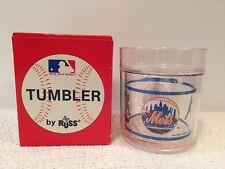 New Russ 1989 Vintage New York Mets Plastic Tumbler Mlb Cup Nib Rare 80s
