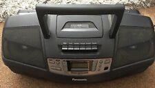 Boombox Panasonic RX-DS18 X-Bass Radio Cd Cassette
