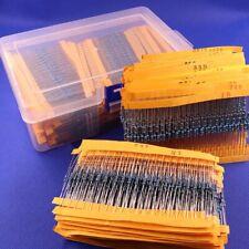1/6W 1/4W 1/2W 1W 2W 3W Metal Film/Carbon Film Resistors Assorted Component Kits