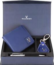 Latest Gift For Diwali WildHorn Blue Men's Wallet (GIFTBOX) For Men From India