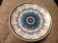 Wedgwood Calendar Plate 2005 Daily Mail