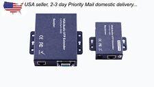 300M Active Audio Video VGA Cat 5/6 Balun Extender Set
