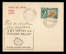 DR WHO 1940 PITCAIRN ISLANDS FDC KING GEORGE VI  183680