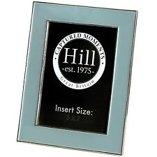 GREY CERAMIC 5 X 7 PHOTO FRAME - REMEMBER A HAPPY OCCASION.