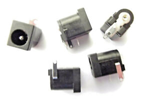 DC Power Socket 2.1mm  1amp 12v PCB Mount x4pcs **Last 4pcs ever***