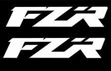 2 x Yamaha FZR 400 600 1000 Decal Sticker Motorcycle