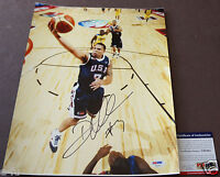 DERON WILLIAMS Signed 11x14 USA OLYMPIC Photo Auto PSA/DNA Certified Autograph
