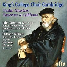 CD KINGS COLLEGE CHOIR CAMBRIDGE TUDOR MASTERS TAVERNER & GIBBONS WILLCOCKS