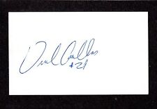 Uriel Casillas IF MINORS  1997-03  PHILLIES  SIGNED AUTOGRAPH AUTO 3x5 INDEX COA