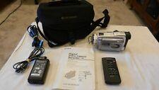 Sony Digital Handycam Camcorder Dcr-Trv38, w/accessories, remote & case