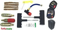 VIPER MOTO KIT REPARATION COMPLET PNEU TUBELESS CREVAISON 5 MECHES COLLE VOITURE