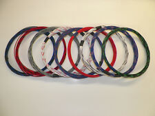 18 GXL HIGH TEMP AUTOMOTIVE WIRE 9 STRIPED COLORS 25 FEET EACH 225 FEET TOTAL
