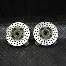 01 YAMAHA BANSHEE 350 YFZ350 FRONT WHEEL RIGHT LEFT HUBS HUB SET bb141