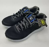 Brand New Athletic Works Black Mens Shoes Mesh Memory Foam Lightweight
