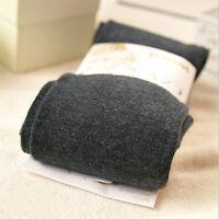 1Pair//2Pairs Womens Winter Deep Gray Crochet Wool Fingerless Gloves #93545