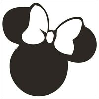 Minnie Mouse Sticker / Decal - Choose Size & Color - Walt Disney Mickey Mouse