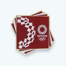 Tokyo 2020 Olympic Games Cropping Pin Badge Red Japan Olympics Free Shipping