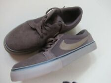 NIKE SB BROWN LEATHER TRAINERS UK 5  EXCELLENT     #5 *
