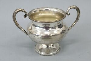 Revere Silver Co Sterling Silver Reinforced Weighted Sugar Compote Bowl 452