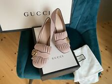✨ Gucci GG Marmont Ballerina Rosa 37 Neu Mit Karton✨