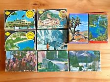 Lot of 9 Miniature Jigsaw Puzzles - Vintage Tuco& Built Rite - Complete & Not