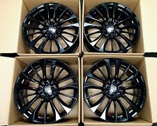"""4 Factory Infiniti Q60 19"""" OEM Staggered Wheels G37 Coupe Black Rims"""