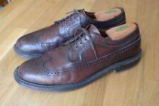 Chaussures Alden Longwing en cuir marron Taille 10 B/D
