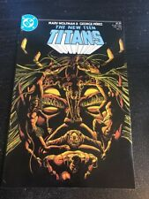 The New Teen Titans#5 Incredible Condition 9.4(1985) Trigon Death, Perez