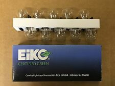 Set of 10: Genuine Long Life Eiko Certified 4057 Taillight 2 Filament Bulb