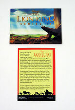 1994 Skybox Disney's The Lion King Series 2 Promo Card (Unnumbered) Nm/Mt